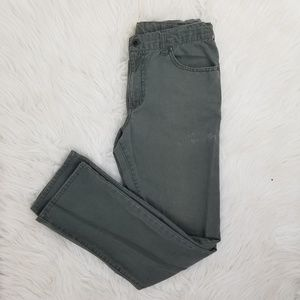 Hurley Jeans - Hurley 100% cotton green khaki jeans 31